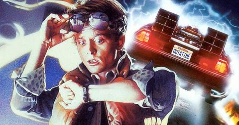 Back To The Future Movie Facts Trivia Large