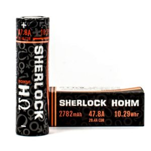 Hohm Tech Sherlock Hohm 20700 Box And Battery
