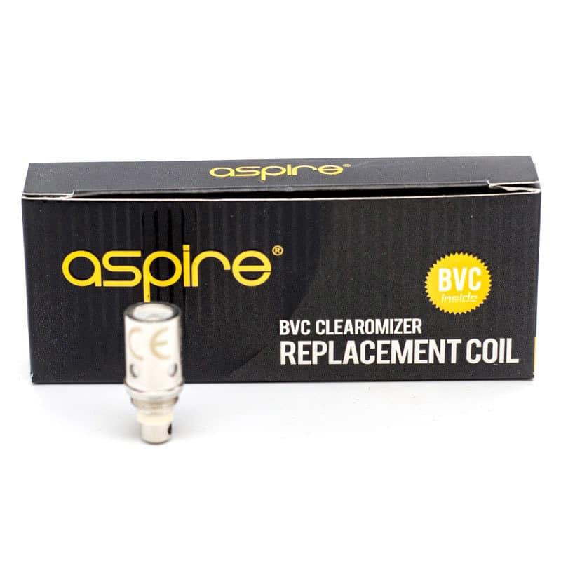 Aspire Bvc Coils With Box