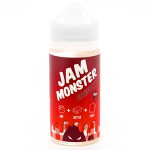 Jam Monster 100ml Strawberry