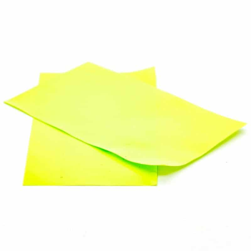 Pair Of 26650 Battery Wraps Lime Green
