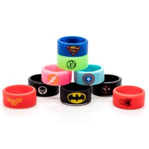 Super Hero Vape Bands Color Options