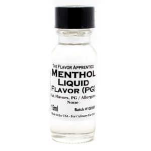 Tfa Flavoring Menthol 15ml Bottle Fixed