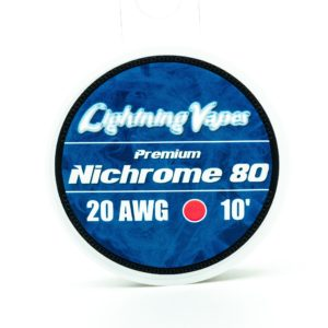 Lightning Vapes Nichrome 80 Wire 10 Feet 20awg