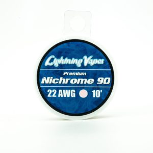 Lightning Vapes Premium Nichrome 90 22awg 10ft